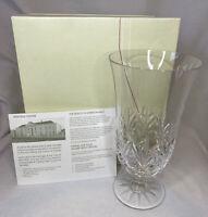 Galway Kylemore Beverage Glass 24% Lead Crystal Set Of 4 NIB