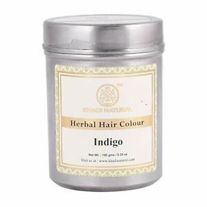 Indigo Herbal Hair Colour 150g By Khadi Natural Free Shipping