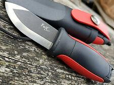 Outdoor Messer Mini mit Feuerstarter Outdoorset Camping Gürtelmesser Halsmesser