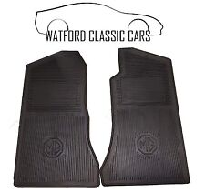 Fitted rubber mats MGB 1968-1982