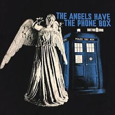 Doctor Who Small T-shirt Science Fiction Space Phone Box Angel BBC British Show