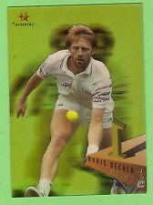 #D313.  1996 BLITZ  AUSTRALIAN TENNIS ACETATE CARD -  R4  BORIS  BECKER