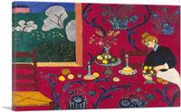 ARTCANVAS Harmony in Red 1908 Canvas Art Print by Henri Matisse