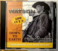 COUNTRY CD-R: RICKEY LEE WATSON Down To Earth REDTAIL white wolf band url