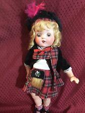 Composition Scottish Doll