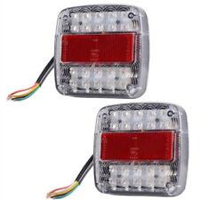 Camion Feux Remorque Caravane ABS Dc 12V 2pcs Lumière Led Stop Arrière