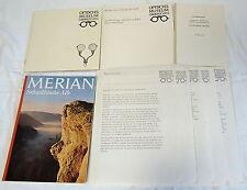 1971 OPTISCHES MUSEUM OBERKOCHEN press information, German