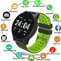 Sports Smart Watch Blood Oxygen Pressure Heart Rate Waterproof for iOS Android
