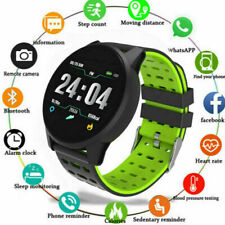 Relógio inteligente Esportes de pressão de oxigênio sangue batimento cardíaco à prova d 'água Para Ios Android