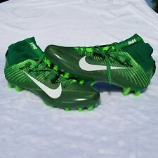 Nike Vapor Untouchable 2 Football Cleats Men's Size 9 Green/Volt 824470-313