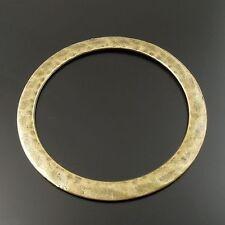 Antique Style Bronze Tone Circle Alloy Pendant Charms 12pcs