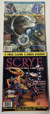 SCRYE MAGAZINE-GUIDE TO COLLECTIBLE CARD GAMES, ISSUES Apr/May & May/June 1995