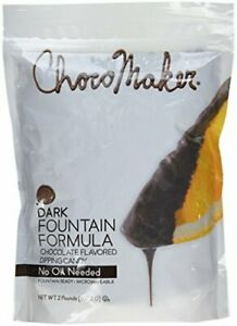 ChocoMaker Dark Chocolate Flavored Fountain Formula Dipping Candy 32 Oz 2 lbs...