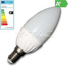 E14 LED Kerze 4W 5050 SMDs 350Lm=35W warm weiß