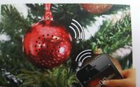 Musical CHRISTMAS TREE ORNAMENT  Bluetooth connectable Speaker  IPOD or PHONE