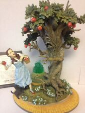 """Franklin Mint Wizard of Oz Dorothy And The Wicked Apple Tree"""" 1998"""