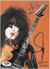 Paul Stanley #1 8 x 10 Autograph Reprint    KISS Meets the Phantom of the Park