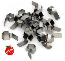 60 Einkochklammern original WECK, Einweckklammern Metall Edelstahl rostfrei