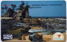 Malaysia Used Phone Card : Kemasik Beach, Terengganu, Malaysia