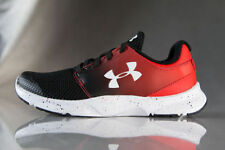 New Under Armour BPS Drift RN SF Shoes Sneakers Kids Boys Black Red Size: 13K