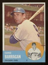 1963 Topps HIGH #557 Barragan in Ex-ExMt condition