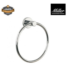 Miller Fine Bathrooms Bond Luxury Towel Ring Brand New Boxed