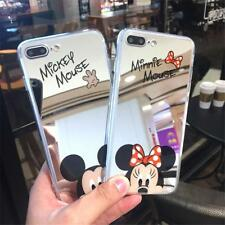 Mickey Mouse Minnie Phone Case For Samsung Galaxy S8 S9 Plus For iPhone 7 8 X
