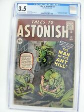 Tales to Astonish #27 CGC 3.5 1st Appearance of Antman!