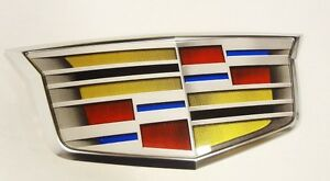 Cadillac ATS XTS ELR LATE MODEL GRILLE CREST FOR ADAPTIVE CRUISE CONTROL