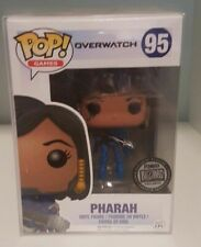 Funko Overwatch Pharah Blizzard Exclusive Blue - Pop Vinyl with Pop Protector