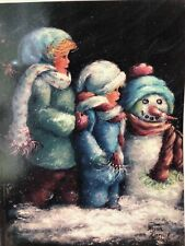 Snow Family Packet By Helan Barrick