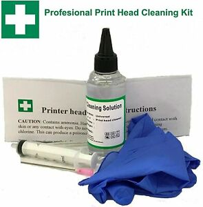 Professional Epson Printer Cleaning Kit Unblock Print Head Nozzles Cleaner Flush