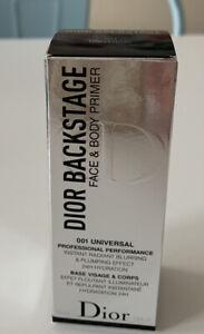 Christian Dior Backstage Face & Body Primer 001 Universal One Size NIB