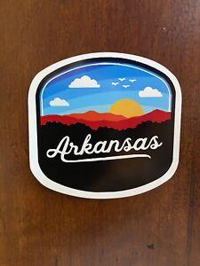 Arkansas Sticker Sunset Waterproof  - Buy Any 4 for $1.75 Each Storewide!