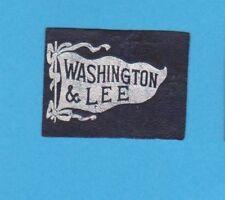 c1910s tobacco / cigarette leather Washington & Lee University #2