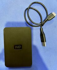 WD Elements 1 TB Portable External Hard Drive USB 3.0 WDBPCK0010BBK-01