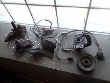 59 60 Chevy Impala Belair Biscayne Parts Lot Hood Latch Coil Bracket Hot Rod Rat