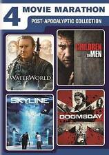 4 Movie Marathon: Post-Apocalyptic Collection Waterworld / Skyline / Children of