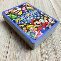 RARE 2003 Mario Party e-Reader Card Game GBA Gameboy Advance 100% Complete (64)