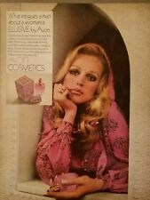 1969 elusive Avon Cosmetics what intrigues a man about a woman ad