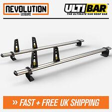 VW Caddy Roof Rack Ladder Bars 2 x Van Guard ULTI Bar Aluminium SWB 2004-2010