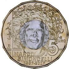 Moneta 5 euro San Marino 2017 - MARCO SIMONCELLI