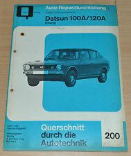 DATSUN 100 A 120 A Cherry Motor Buch Reparaturanleitung B200 Handbuch Bucheli
