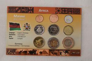 MALAWI COIN SET WITH COA B38 #46
