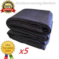 5XHeavy Duty Furniture Protection Moving Blanket Quilted Removalist Pad 1.8X3.4m