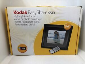 "NEW Kodak Easy Share S510 5.6"" Digital Picture Frame with remote"