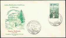 SAAR FDC Mi.-Nr.369 Tag der Briefmarke Hilbringen 06.5.1956