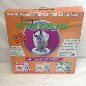 Doogie's Litter Kwitter Cat Toilet Training System COMPLETE, Open Box Potty Kit