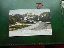 Vor 1914 Frankierte Normalformat Ansichtskarten aus Deutschland für Brücke