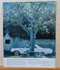 1964 magazine ad for Buick LeSabre - Buick builds high priced car with low price